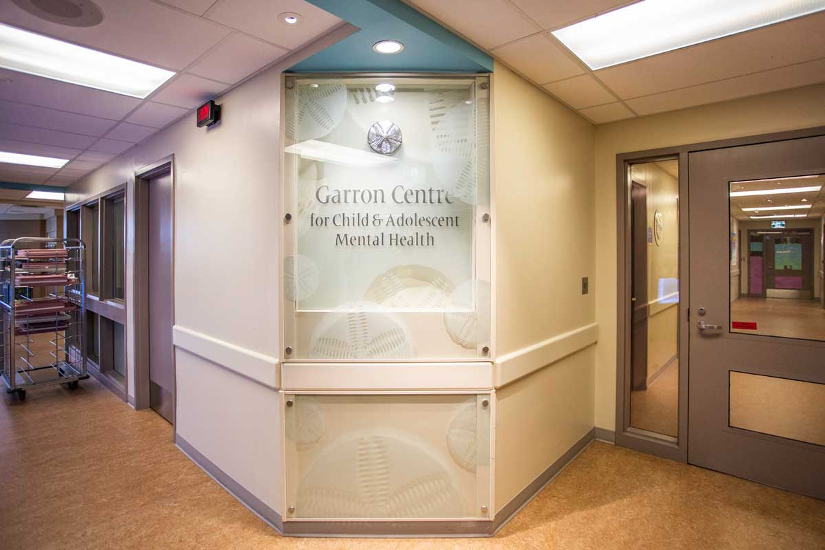 Inside the Garron Centre for Child and Adolescent Mental Health