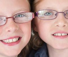 Kendra and Kinsey Fader, IWK Patients